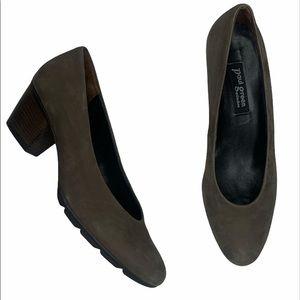Paul Green suede sz 8 heels